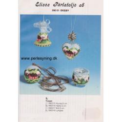 Perlemønster nr 990016 hjerte Elises -brugt-