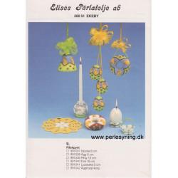Perlemønster nr 991042 æggeholder Elises -brugt-