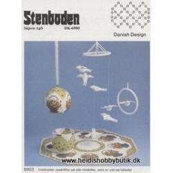 Perleopskrift nr 3  1989 Stenboden - Brugt -