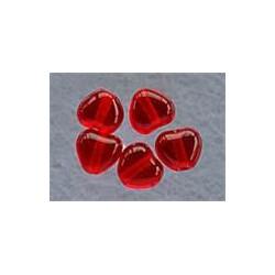 rødt hjerte 6 x 6 mm