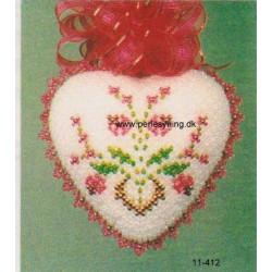 - Brugt -ILA opskrift 11-412 hjerte