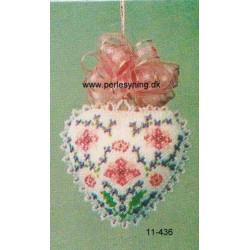 - Brugt -ILA opskrift 11-436 hjerte