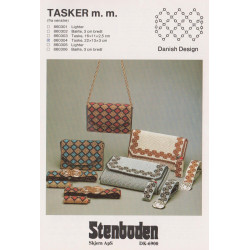 Perleopskrift nr 860301 Stenboden lighter etui -brugt-
