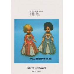 Brugt 1984 Elises nr. 984021 dukke 25 cm