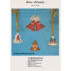 Brugt 1985 Elises nr. 985074 guldklokke 8 cm