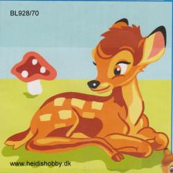 Disney broderi med Bambi
