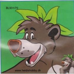 Disney broderi med Baloo