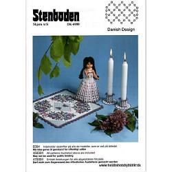 2003 nr 4 Stenbodens opskrift dug/dukke/lysmanchet