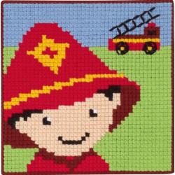 Brandmand Børnestramaj 25 x 25 cm