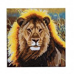 Diamant Kort med løve