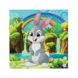 Diamant Kort med kanin