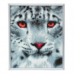 Sne leopard21x25 cm