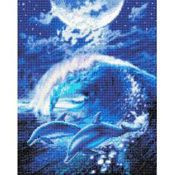 Delfin  40x50 cm