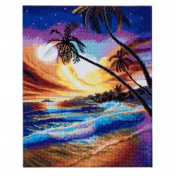 Tropisk  strand  40 x 50 cm