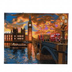 London sunset Led Billede
