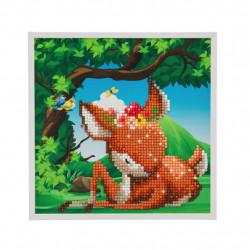 Bambi 20 x 20 cm diamantbilledet