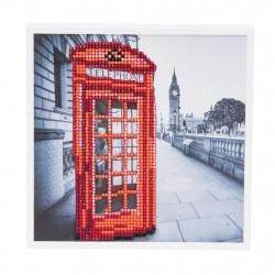 London 20 x 20 cm diamantbilledet