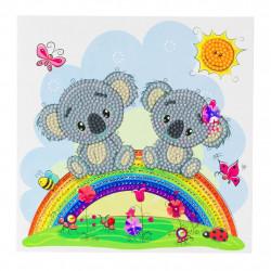 Diamant Kort med koalabjørne