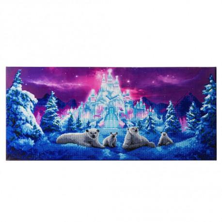 Ice Kingdom 40 x 90 cm Diamant billede