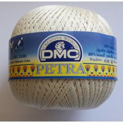 Hæklegarn cremehvid  DMC Petra No. 8