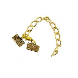 Smykkelås 10 mm guld
