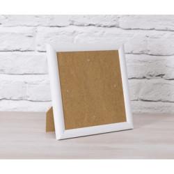 Ramme hvid kant -21 x 21 cm