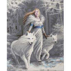 Vinter Vagter 40 x 50 cm Diamant billede
