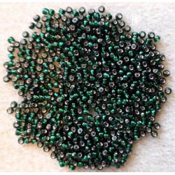 Miyuki perle 9/0 Grøn silverlined Nr. 27