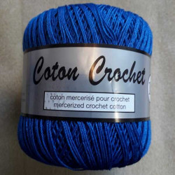 Coton Crochet nr. 10 blå
