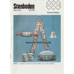 Perleopskrift nr 4 1987 Stenboden -Brugt-