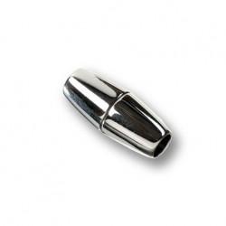 8 mm magnetlås sølvfarvet