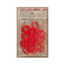 røde ringe 24 stk