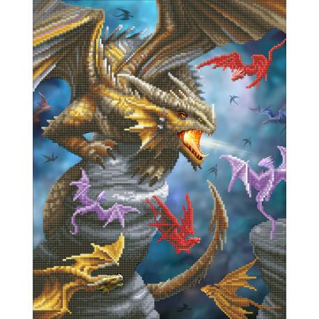 Dragon Clan 40x50 cm Anne Stokes