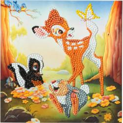 Bambi & Venner 18x18 cm Diamant kort