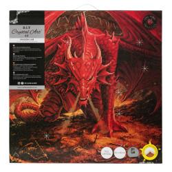 Dragon's Lair Diamant billede 70 x 70 cm
