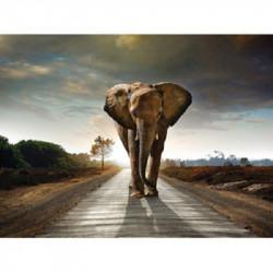 Elefant - 30x40cm Diamant Billede