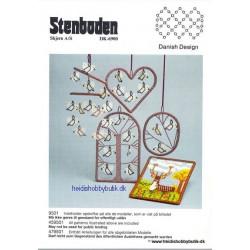 1995 nr 1 Stenbodens opskrift ophæng/ fugle