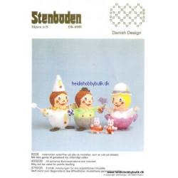 1992 nr 8 Stenbodens opskrift klovne