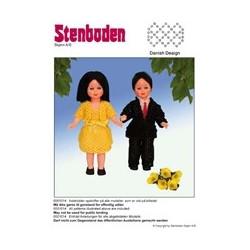 2010 nr. 14 Stenbodens perleopskrift dukke