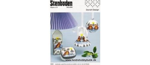 1993 -94 Stenboden -Brugt- opskrifthæfter